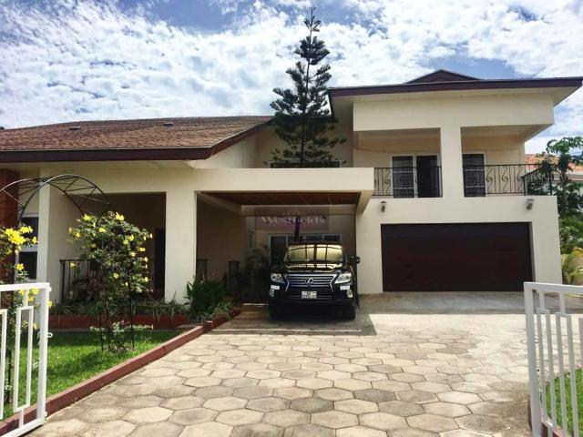 4 Bedroom House for Rent at Cantonments, Accra