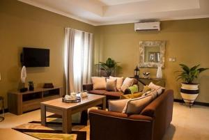 4 Bedroom Furnished Townhouse for Rent at Airport Residential, Accra